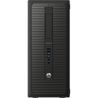 ПК HP EliteDesk 800 G1 MT i5 4590 (3.2)/4Gb/500Gb 7.2kHDG4600/DVDRW/Windows 8 Professional 64 dwnW7Pro64/GbitEth/320W/клавиатура/мышь/черный/ДА