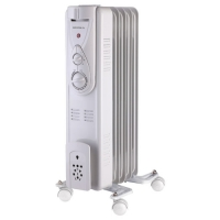 Радиатор масляный Supra ORS-05-P2 1000Вт белый