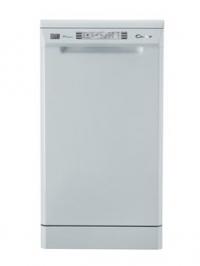 Candy CDP 4609 -07 EVO space, 9 комплектов посуды, панель управления LED, отложенный запуск 3-6-9 ч, 5 программ, включая Ультра, Быстрая 24, серые корзины,  А+АА, уровень шума- 54дБ, цвет- белый.